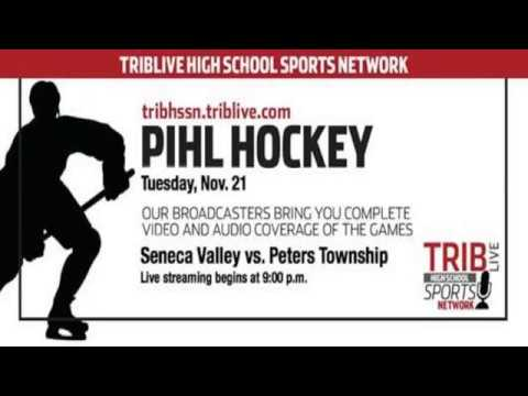PIHL Hockey - Seneca Valley at Peters Township