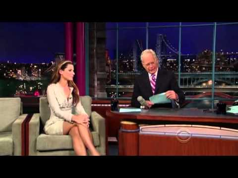 Sandra Bullock Late Show with David Letterman 2009