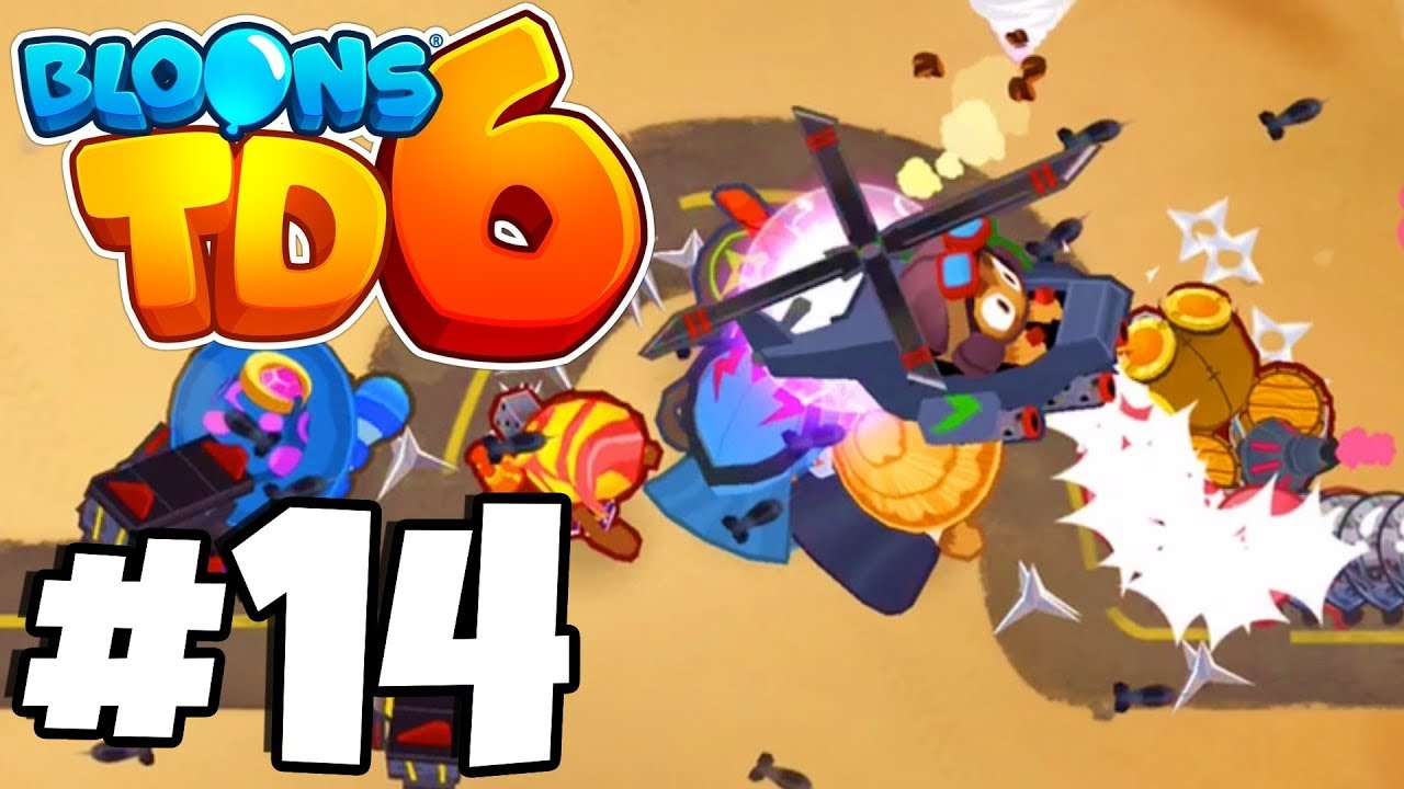 *NEW* Druid Monkey DESTROYS Balloons! - Bloons Tower Defense 6 Part (BTD 6  IOS/Android)