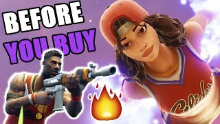 FORTNITE JUMPSHOT & TRIPLE THREAT SKIN REVIEW - BEFORE YOU BUY | Sonny Daniel