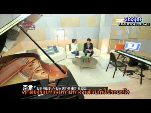 [SISSUB][Thai sub] 120324 Music & Lyrics - Junho & Soeun Ep1