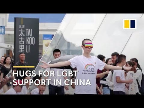 Hugs for LGBT support in China