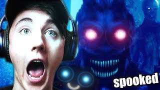 WHAT'S HAPPENED TO FNAF 4?! || Try To Fall Asleep (Horror Game)