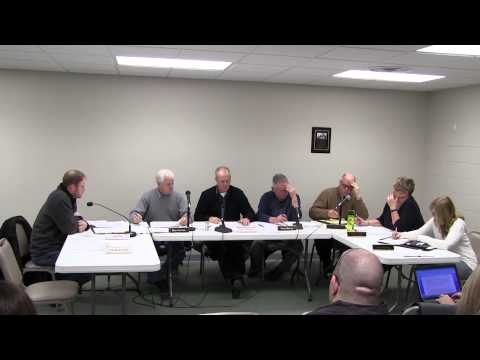 February 9, 2015 Village of Goodrich Council Meeting