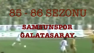 Samsunspor'un Şampiyonluğu kaçırdığı maç