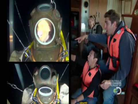 Mythbusters Compresed Diver Gory Youtube