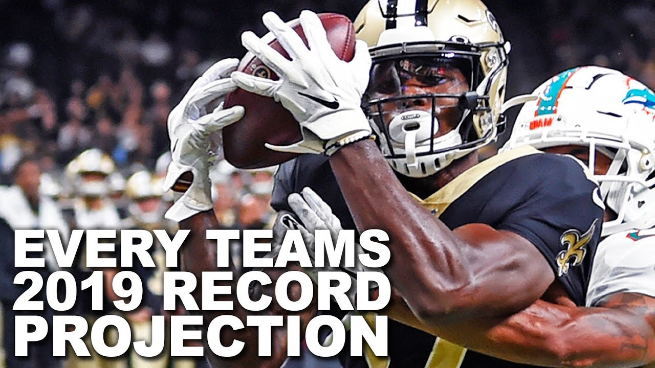 Every Team's 2019 Record Projection