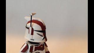 how to make a custom lego star wars clone trooper rangefinder tutorial