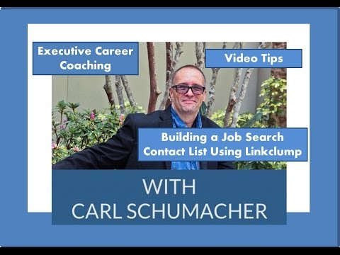 Building a Job Search Contact List Using Linkclump