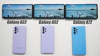 Samsung Galaxy A32, A52, A72 - Какой выбрать (советы)