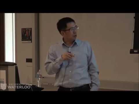 Professor Gang Zheng - Waterloo Institute for Nanotechnology (WIN) Seminar