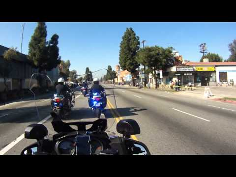 L.A.P.D. Motorcycle Drill Team