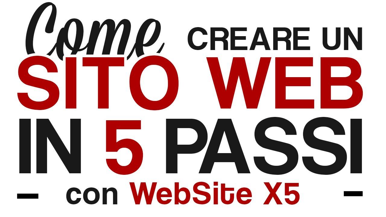 1 tutorial: creare un sito web (1) youtube.