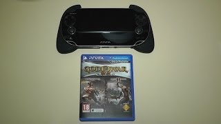 God of War Collection PS VITA Unboxing & Gameplay