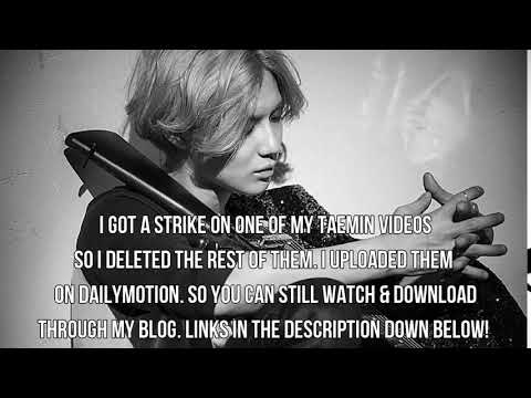 Taemin - Move/ Rise/ Thirsty/ Stone Heart/ Back To You/ Flame Of Love