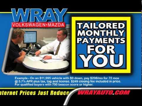 Wray Automotive - Pre-owned Financing - Orangeburg, SC