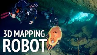 world s first ai underwater robot cave diver