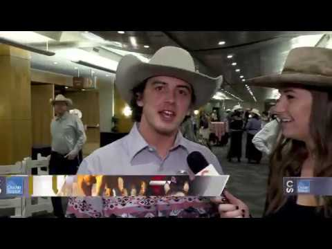 Calgary Stampede Roving Reporter - Parade Marshal Mark McMorris