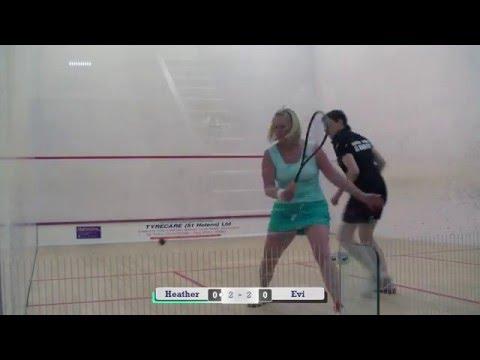 Northern Club Crosby Ladies Squash Final 2016