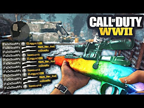 1 HOUR OF INSANE WW2 BANGERS! CALL OF DUTY SNIPER MONTAGE