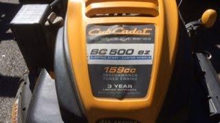 cub cadet sc 500 ez demo final review radicalreviews
