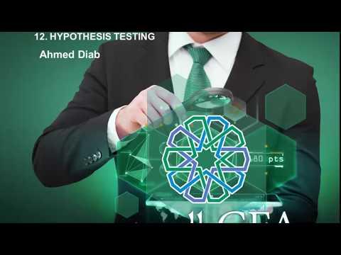 CFA_بالعربي level 1 Quantitative Methods ( 7 ) R 12