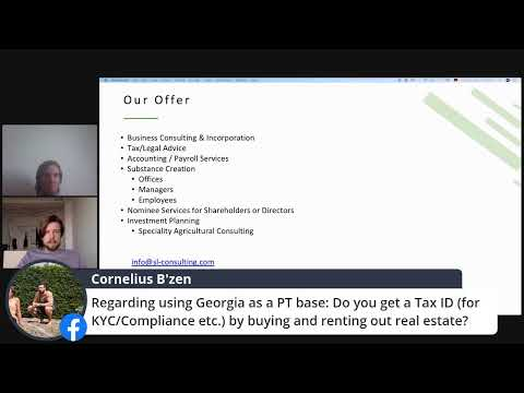 Opportunities In Georgia - Banking, Companies, Residency And More