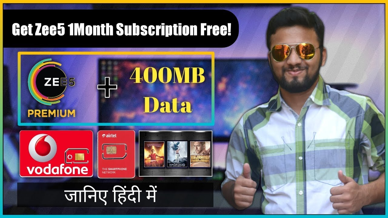 How To Get Free Zee5 Premium Subscription & Watch Free Live HD TV