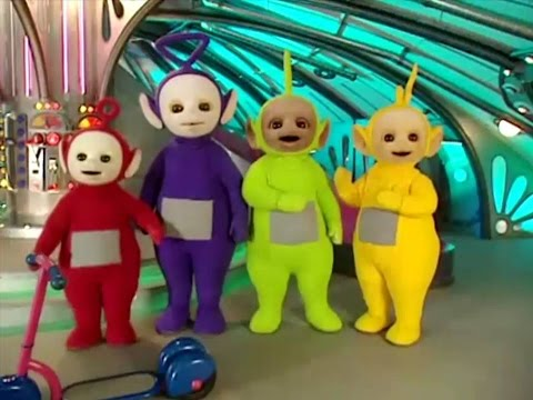 Teletubbies -  Numbers - 5 (Version 1) (1997)