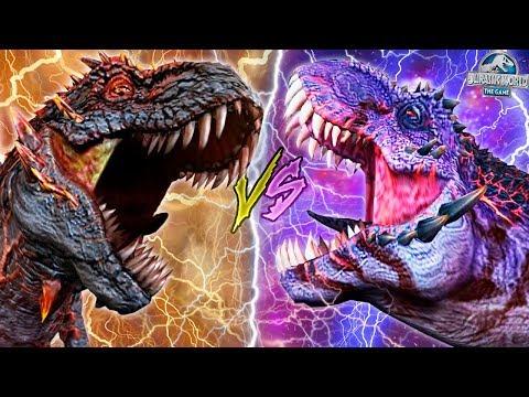 WORLD BOSSES ALPHA 06 VS OMEGA 09! - Jurassic World The Game - *WORLD BOSS EVENTS* HD  