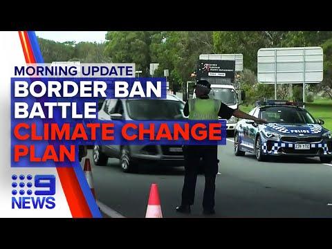 Reopen Australia, Emissions Target Roadmap | Nine News Auatralia