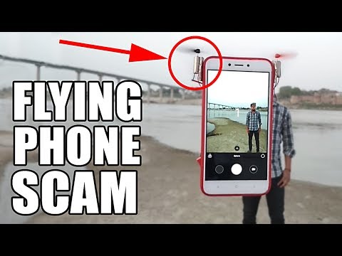 FLYING PHONE SCAM