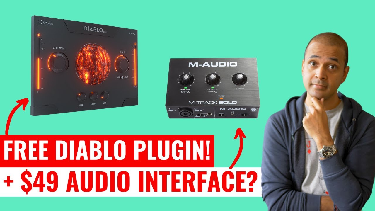 NEW $49 Audio Interface | FREE Drum Plugin and Audient iD4 MKII and iD14 MKII