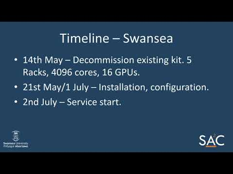 Swansea Academy of Advanced Computing User Forum 2018-04-04