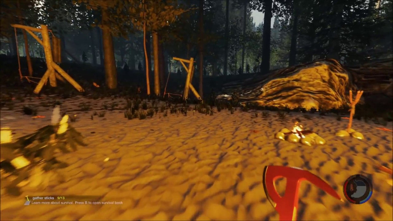 the forest game cannibals