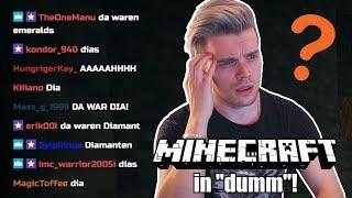 Ich PRANKE meine Zuschauer (mit schlechtem Minecraft-Gameplay)!