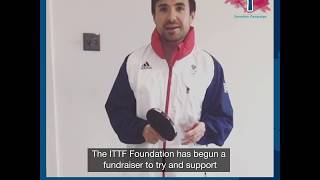 #TableTennisUnited: Will Bayley (England)