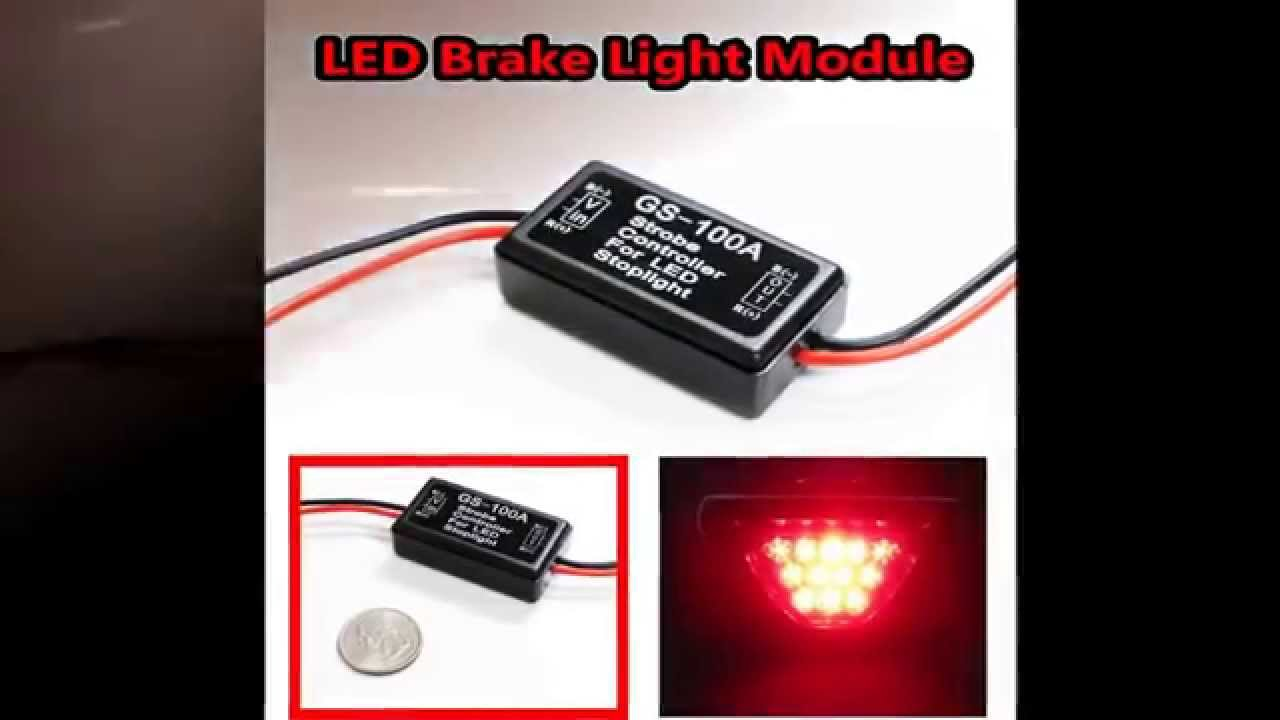 LED Third Brake Light Strobe Module