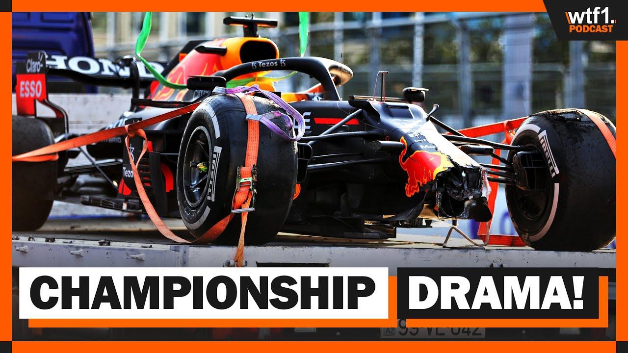 2021 Azerbaijan GP Race Review | WTF1 Podcast