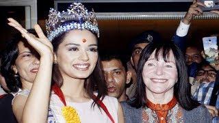 Miss World 2017 Manushi Chhillar Meets Her Fans At Mumbai Airport