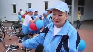 В Клину презентовали трехколесные велосипеды для пожилых граждан(выпуск от 22.08.2014 года Министерство социальной защиты населения Московской области закупило для пожилых..., 2014-08-26T06:32:16.000Z)