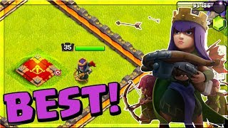 NEW HERO ABILITY - NEAR MAX LEVEL ARCHER QUEEN GAMEPLAY - BEST HERO IN Clash of Clans?!