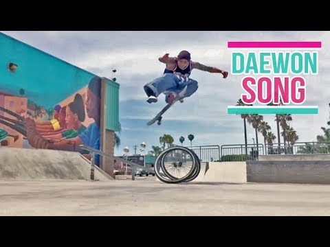 "Daewon Song 2017 ""Amazing and Unreal Skateboarding Tricks"""