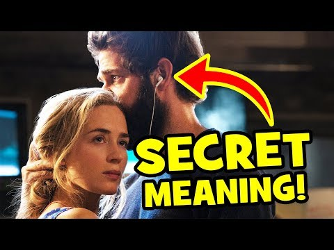 The HIDDEN MEANING You Missed In This A QUIET PLACE Scene