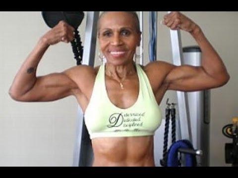 LA CULTURISTA MAS ANCIANA DEL MUNDO. Abuela musculosa de 74 años