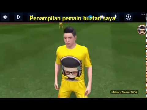 Cara membuat pemain sendiri di dream league soccer 2018