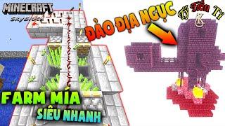 Máy Farm Mía Siêu Nhanh - Minecraft Skyblock # 6