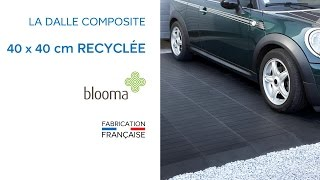 Dalle Recyclee Clipsable 40 X 40 Cm Blooma 676443 Castorama Youtube