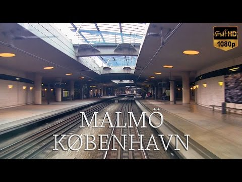Train Driver's View: Malmö to Copenhagen (Part 1 of 2)