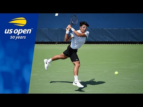 Hyeon Chung Defeats Ričardas Berankis in Round 1 of the 2018 US Open